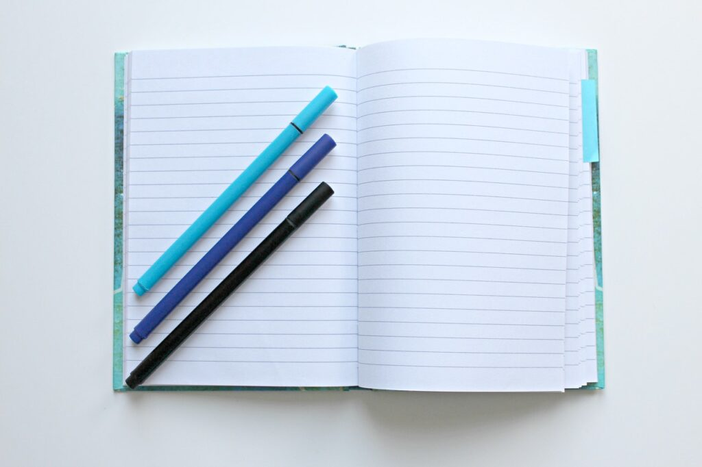 ノートの色分けルール&色ペン組み合わせ